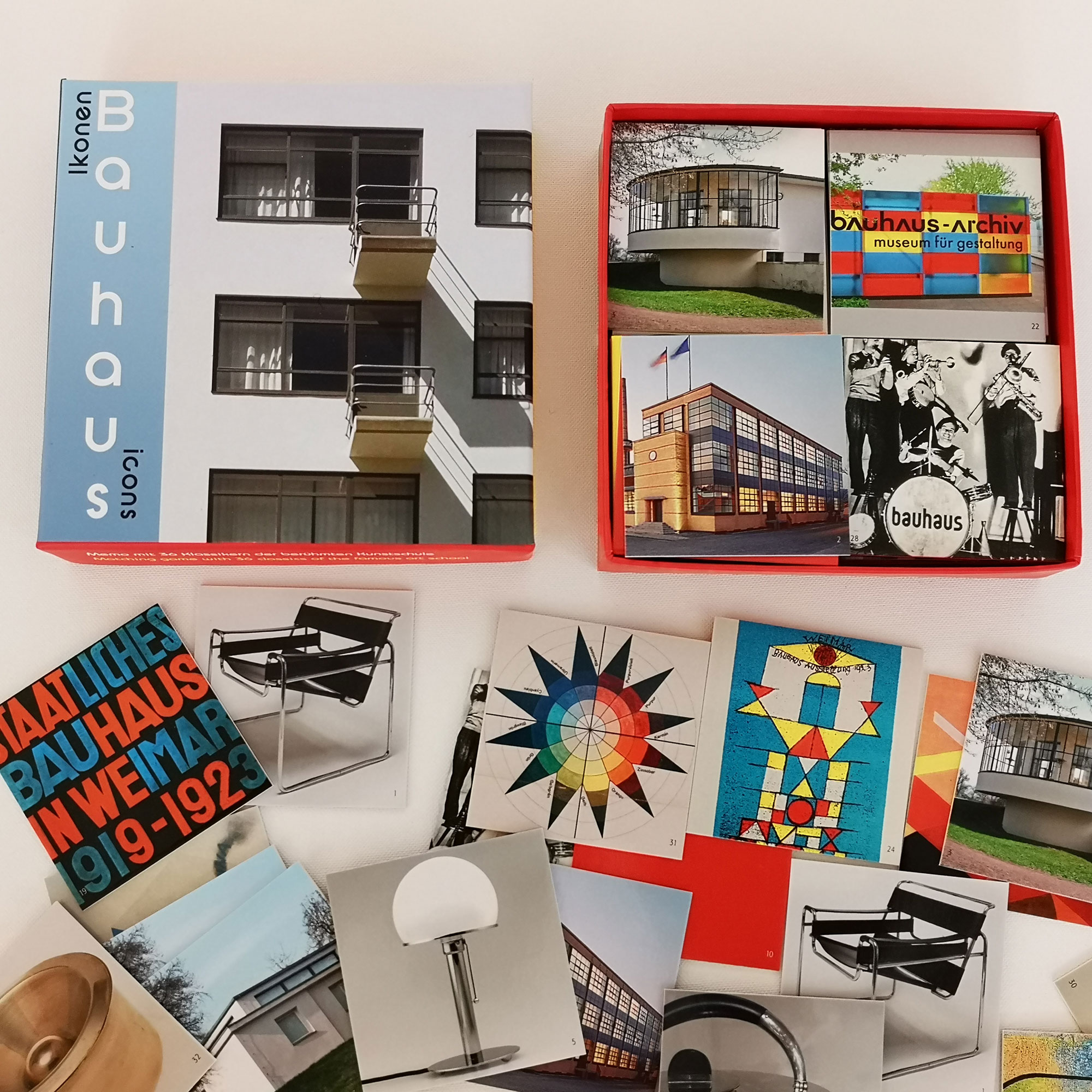 Bauhaus Memo Spiel