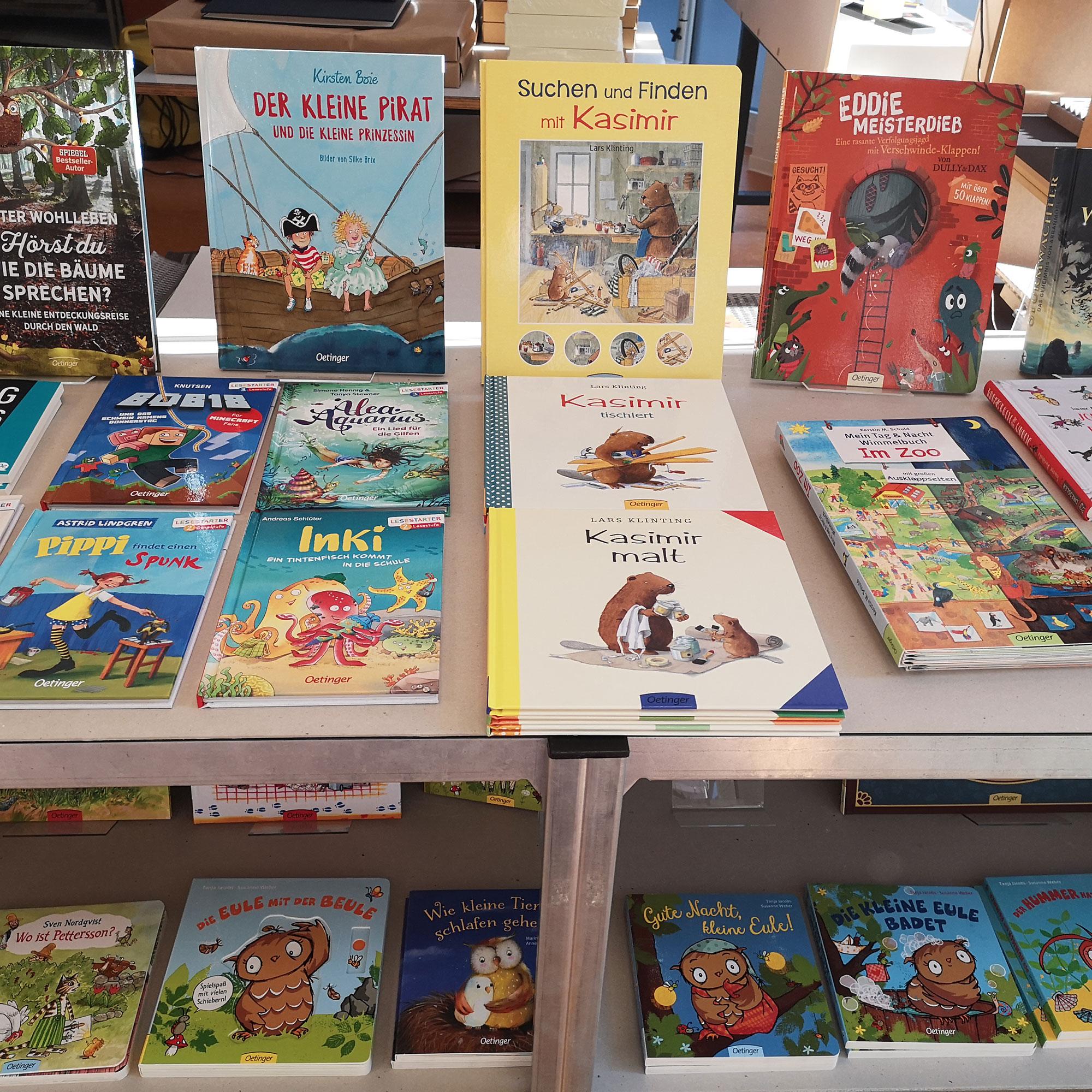 Kinderbücher vom Oetinger Verlag