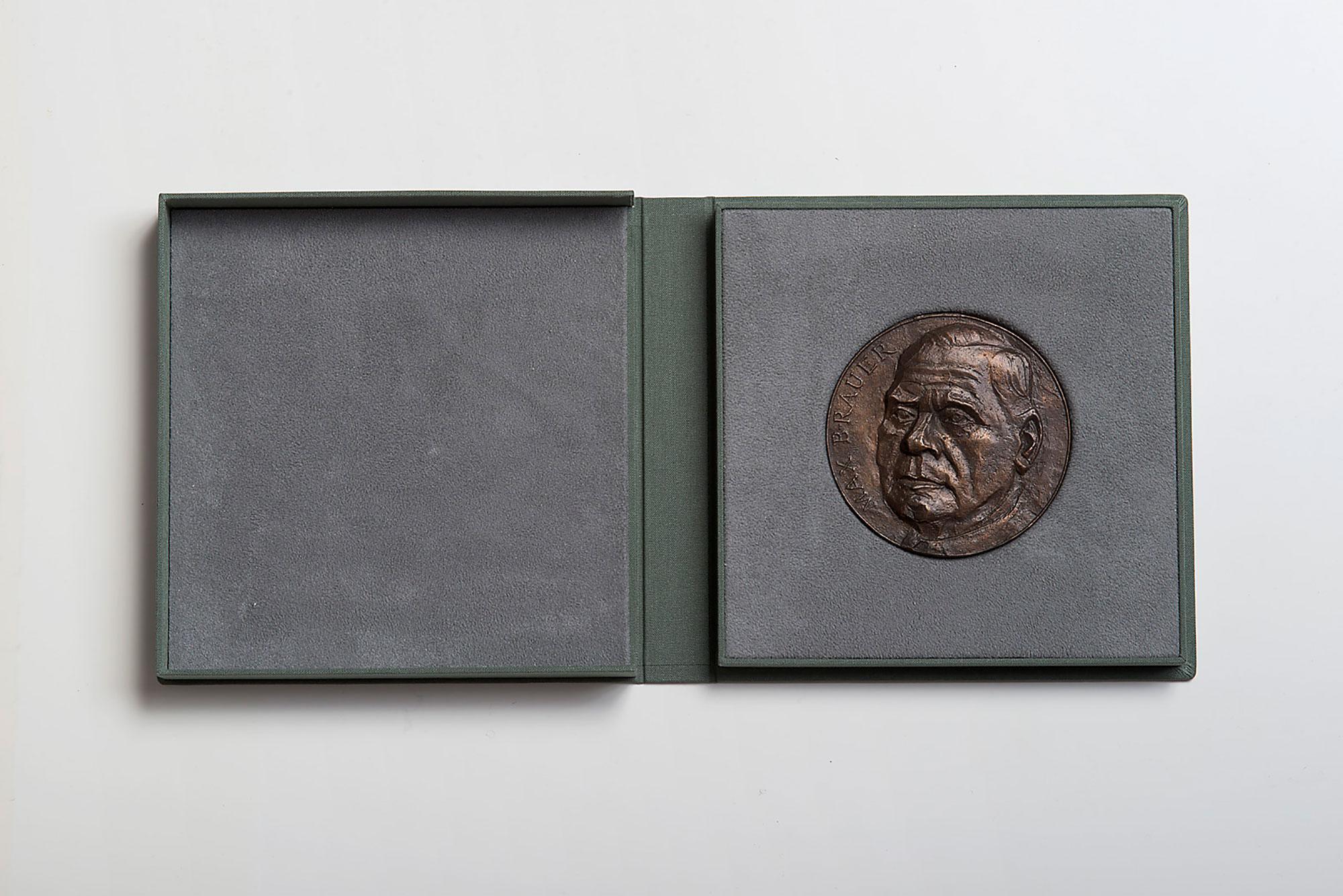 Kassette für Medaille