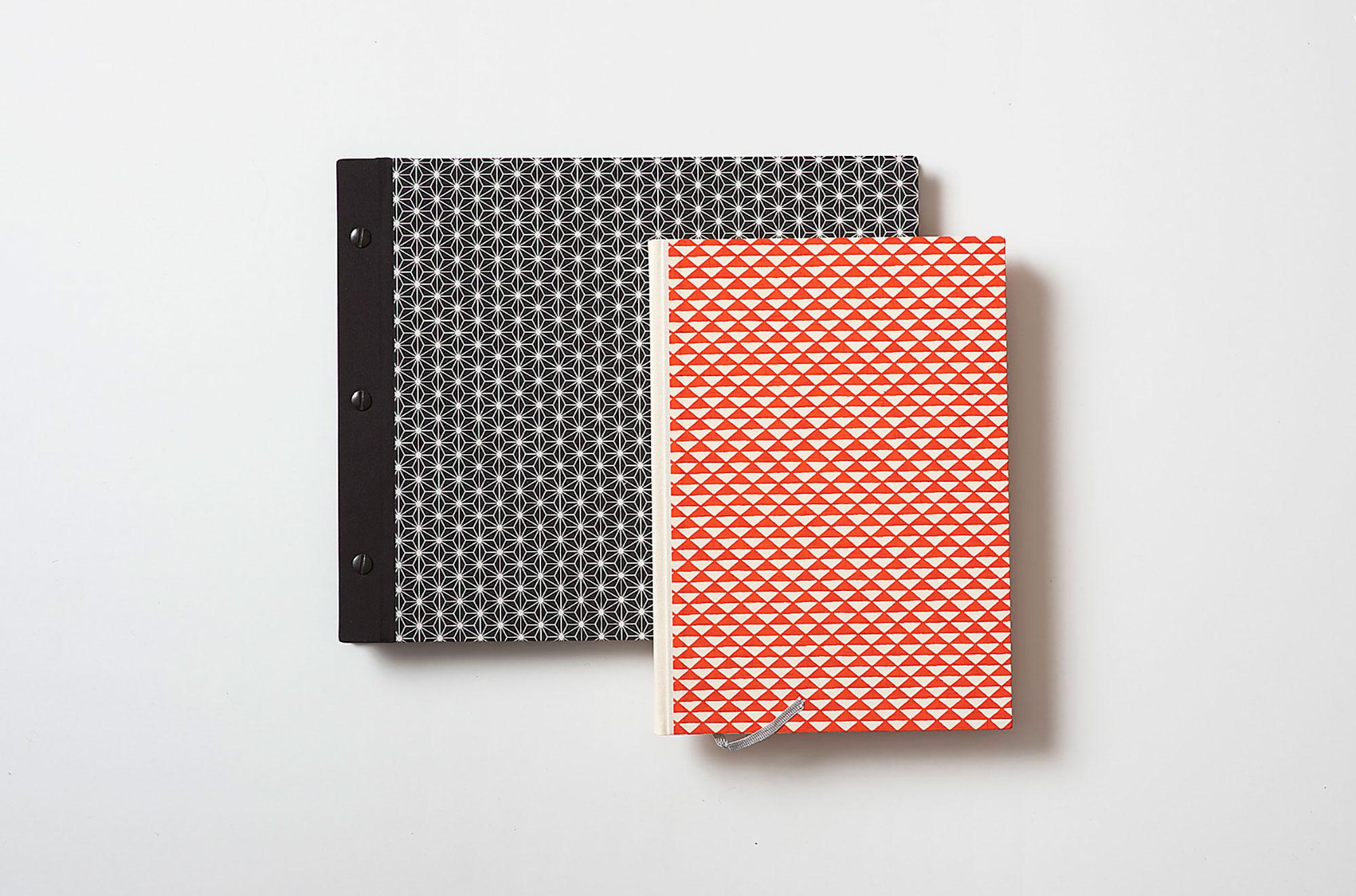 Einbände mit japanischem Papier